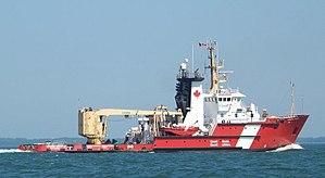 Buoy tender - CCGS buoy tender Samuel Risley