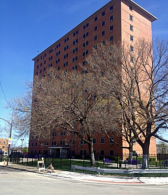 Chicago Housing Authority - Harsh Apartments in the North Kenwood-Oakland neighborhood.