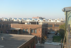 Coney Island Yard Electric Motor Repair Shop - From Avenue X station