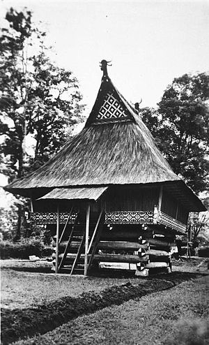Simalungun people - A Simalungun museum in Pematangsiantar, North Sumatra, Indonesia.
