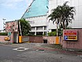CTS TV Production Building underground parking space entrance 20180101.jpg