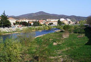 Bormida di Spigno river in Italy