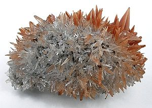 Guiyang County - Calcite crystals, Leiping, Guiyang County, from a find in 2000.