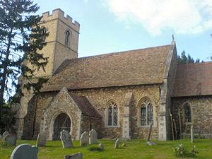 Caldecote, Cambridgeshire - Image: Caldecote Church