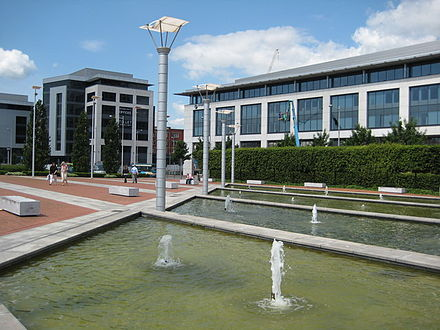 Callaghan Square is a major commercial development in central Cardiff Callaghan Square Cardiff.jpg