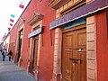 Calle Jalisco, Dolores Hidalgo, Guanajuato - Fachadas y banderas 2.jpg