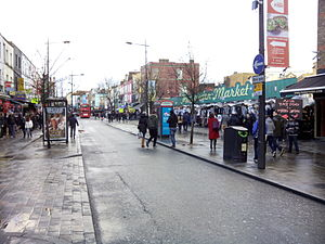 Camden High Street - Camden High Street. January 2015