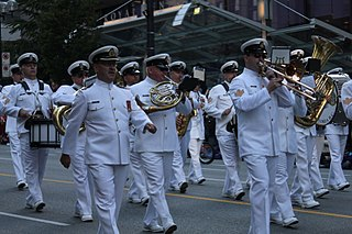 Navy bands in Canada