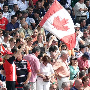Canada national rugby union team - Canadian fans at the 2007 World Cup