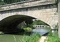 Canal du Midi. Epanchoir (spillway) de l'Argent-Double, seen from under the D-11 bridge. La Redorte, département de l'Aude, France. - panoramio (1).jpg