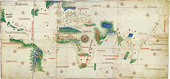 Karte des Piri Reis – Wikipedia