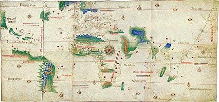 Cantino planisphere - Wikipedia