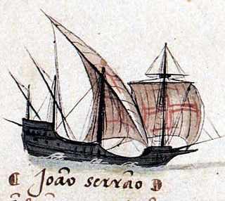 Square-rigged caravel