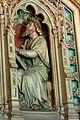 Cardiff Castle - Bibliothek Allegorien Literatur 6 Runisch.jpg