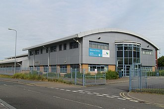 Cardiff and Vale College - Image: Cardiff Construction Training Centre (CAVC), Dumballs Road, Cardiff