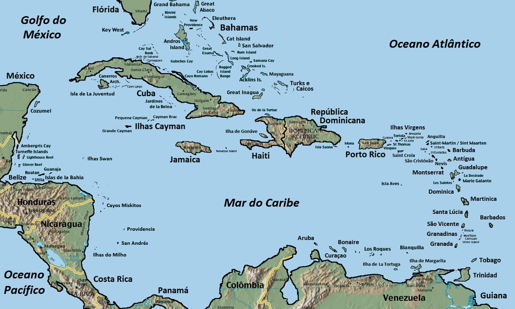 Filecaribbeanislands Ptpng Wikimedia Commons