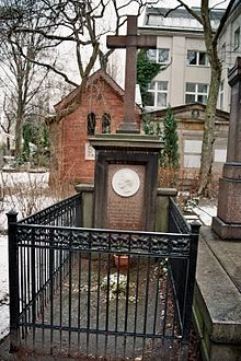 Grab von Carl Friedrich Rungenhagen auf dem Dorotheenstädtischen Friedhof in Berlin-Mitte (Quelle: Wikimedia)