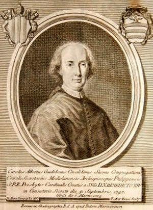 Carlo Alberto Guidoboni Cavalchini - Image: Carlo Guidoboni