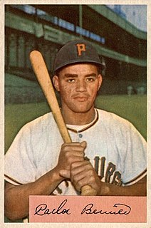 Carlos Bernier Puerto Rican baseball player