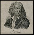 Carolus Linnaeus. Line engraving after Ehrensverd. Wellcome V0003596ER.jpg