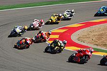 Motogp Rennen Im Motorland Aragon