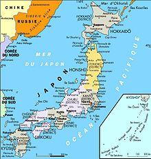 Géographie du Japon — Wikipédia
