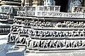 Carvings on the basement Channakeshava temple, Belur(3).jpg