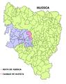 Casbas de Huesca mapa.png