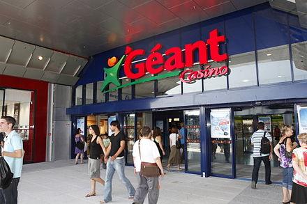 application geant casino