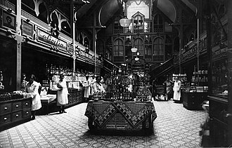 Groupe Casino - The first store in Saint-Etienne, 1898