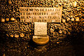 Catacombs of Paris, 16 August 2013 013.jpg