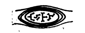 Avitus of Vienne - A seal of Bishop Avit