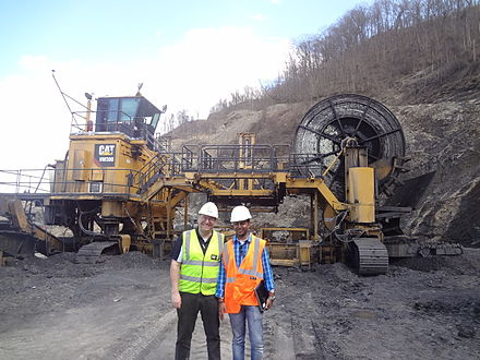 Caterpillar Highwall Miner HW300 - Technology Bridging Underground and Open Pit Mining Caterpillar Highwall Mine HW300.jpg