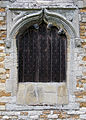 Caythorpe St Vincent - Door in west wall, blocked.jpg