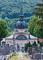 Cemetery chapel on the cemetery Purkersdorf, Lower Austria, Austria-VD SE PNr°0721.jpg
