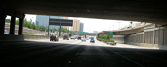 Central Expressway (Dallas) - Central Expressway near NorthPark Center