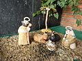 Ceramica de Coladilla Virgen Jose Jesus buey y mula lou.JPG
