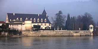 Ampuis - The castle of Ampuis
