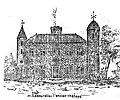 Château de La Bourélie, dessin XVIIe siècle.jpg