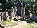 Château de Ranrouet vestiges du logis vus de la tour.JPG