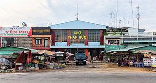 Tháp Mười District District in Mekong Delta, Vietnam