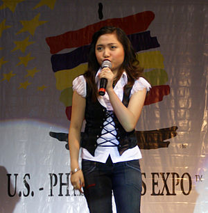 Charice Pempengco sings at US Philippine expo ...