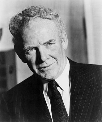 Charles Bickford - Bickford as host of The Man Behind the Badge
