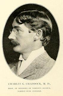 Charles Gilbert Chaddock American neurologist