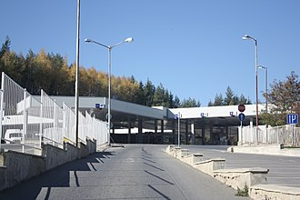 I-6 road (Bulgaria) - Gyueshevo border checkpoint