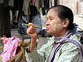 Cheroot Smoker (42396430895).jpg