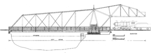 Cherry Avenue Bridge - Eastern elevation of the bridge