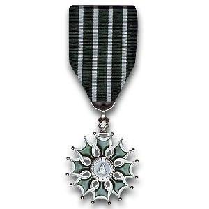 Ordre des Arts et des Lettres - Image: Chevalier arts et lettres