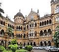Chhatrapati shivaji terminus, esterno 05.jpg
