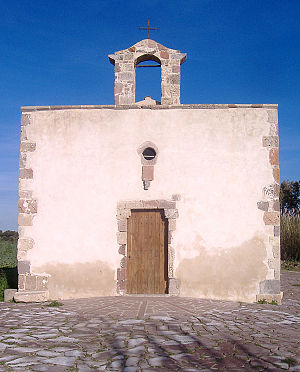 Giba, Sardinia - Santa Marta Church